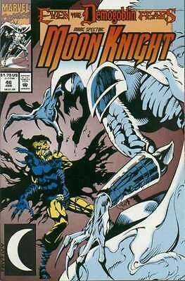 Marc Spector: Moon Knight #46 in Very Fine + condition. FREE bag/board