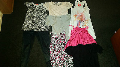 Joblot 9 Items - Size 6 to 10 - Evie, New Look etc - Good Condition
