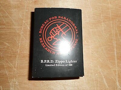 BPRD Zippo Lighter Limited Edition of 500