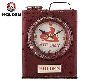 Holden Heritage Jerry Can Clock - Red