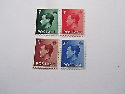 Edward VIII Set of 1936, Mint/NH/Fine, #230-3