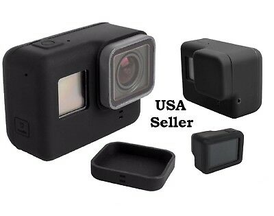 Housing Protective Case Lens Cover Soft Rubber Cap Silicone For GoPro Hero 6 5 7
