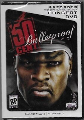 Brand New! Sealed! 50 Cent Bulletproof Concert DVD 2005 Aftermath Records!