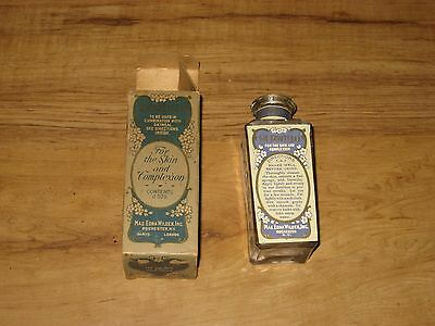 1900's Derwillo Skin Treatment Sealed Bottle In Box-For The Complexion-Quack