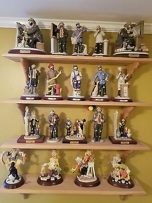 Emmett Kelly clown collection with original boxes