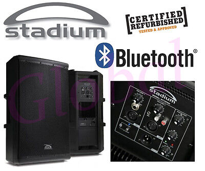 """Stadium 15"""" ACTIVE PA Karaoke System w/ Bluetooth & 2 Built-In Amps (PAIR) *RFB*"""