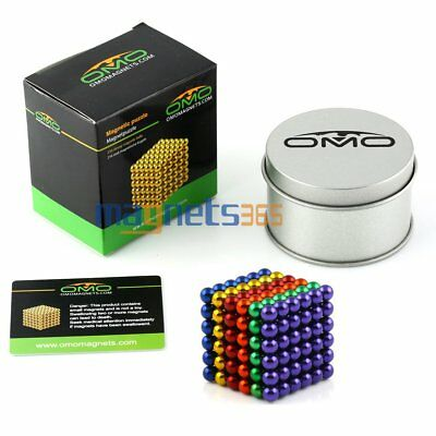 "US Stock Dia 5mm/0.2"" Sphere Magnetic Beads 3D Puzzle Neodymium 216pcs N42"