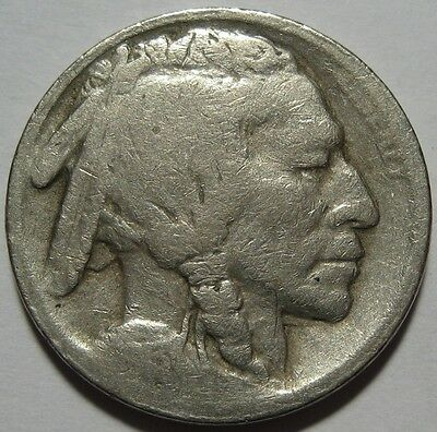 = 1913-S TYPE 2 KEY DATE BUFFALO Nickel, FREE Shipping