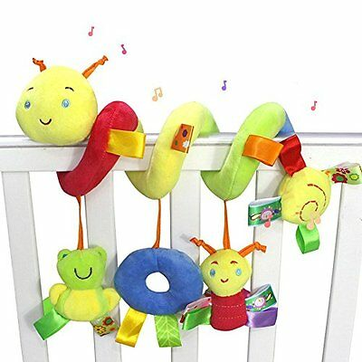 Daisy Infant Baby Crib Mobile Ornament Hangings Rattle Toy Spiral Activity Bar