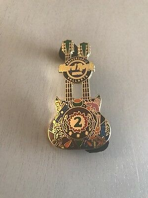2014 2nd ANNIVERSARY VALLARTA MEXICO HARD ROCK LAPEL PIN