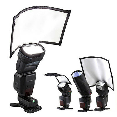 Universal Flash Snoot Speedlite Softbox Diffuser Speedlight Reflector Foldable
