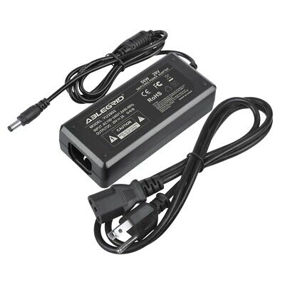 29V 2A AC DC Adapter Power Supply Cord Charger 5.5mmx2.5mm Center Positive PSU