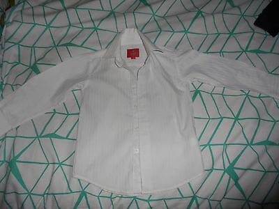 Fred Bracks Boys White Wedding Formal Shirt- Size 2