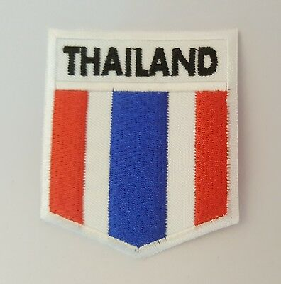 THAI National flag Embroidery Needle craft Decor by sewing or ironing …