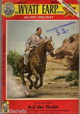 DIE WYATT EARP Story 251 / William Mark / (1961-1968 Hamburg)