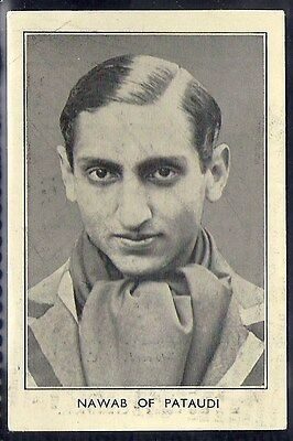 Amalgamated Press-Australian & English Cricket Stars-#23- Pataudi