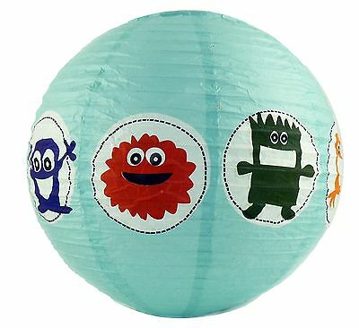 Paper Light Lamp Shade with Monsters for Children's Bedroom by Asda