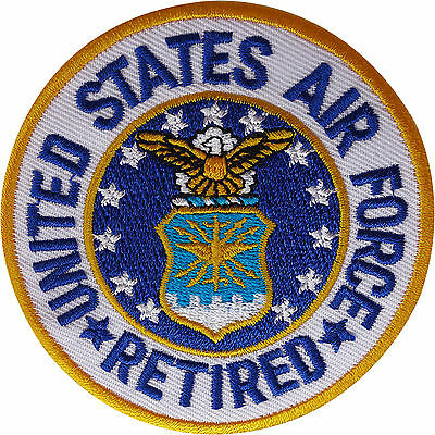 US UNITED STATES AIR FORCE F15 EAGLE DRIVER MILITARY PATCH BADGE SEW ON TYPE