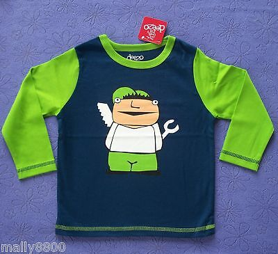 Deezo - Boys - Long Sleeve - Top Tshirt - Handy Man -   Size 00, 0, 2
