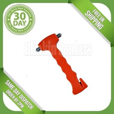 Car Safety Smash Glass Window Windscreen Break Emergency Hammer Seat Belt Cutter