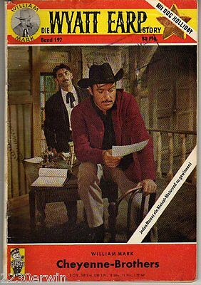 DIE WYATT EARP Story 197 / William Mark / (1961-1968 Hamburg)