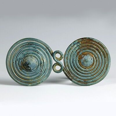 Large Bronze-Age Spiral Decoration