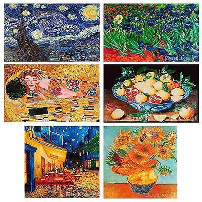 Diamond Dotz Embroidery Craft Mosaic Decal Kit - Van Gogh , Klimpt , Hulzdonck