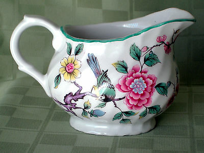 James Kent Ltd Old Foley English Pottery Chinese Rose Pattern Creamer
