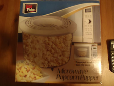 Microwave Popcorn Popper By Total Vision