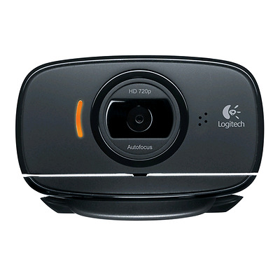 Logitech Retail Webcam Logitech HD C525 USB, black