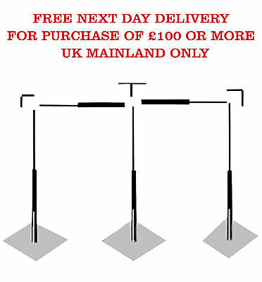 6 x 3m Economy Wedding Stand Telescopic Backdrop Pipes Adjustable