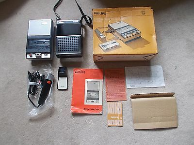 **Rare BOXED** Philips EL3302 Portable Cassette Recorder Excellent Refurbished
