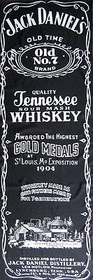 JACK DANIELS TÜRFLAGGE DOORFLAG TENNESSEE SOUR MASH WHISKEY OLD NO.7 - 170x57cm