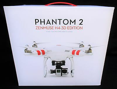DJI Phantom 2 Quadcopter V2 Drone With 3-Axis H4-3D Zenmuse Gimbal For GoPro4
