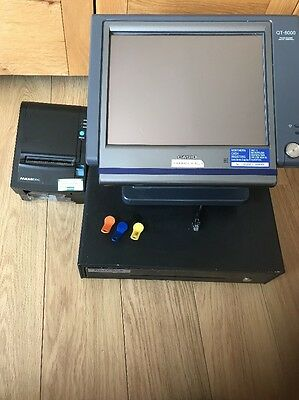 Casio QT-6000 Till, With Cash Tray, And receipt Printer. EVERYTHING Included
