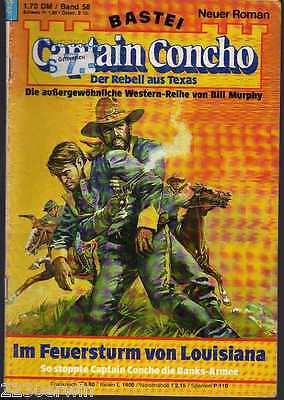 CAPTAIN CONCHO Band 58 / Bill Murphy /  (1983-1985 Bastei-Verlag)