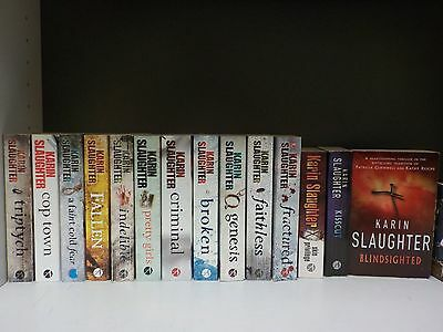 Karin Slaughter - 14 Books Collection! (ID:48141)