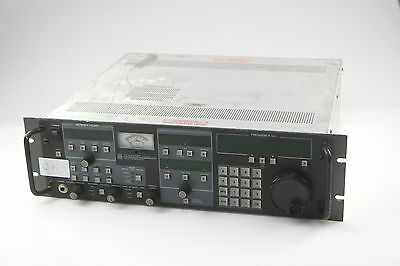 WATKINS JOHNSON WJ-8711A HF RECEIVER WJ-8711 with PRESELECTOR #2