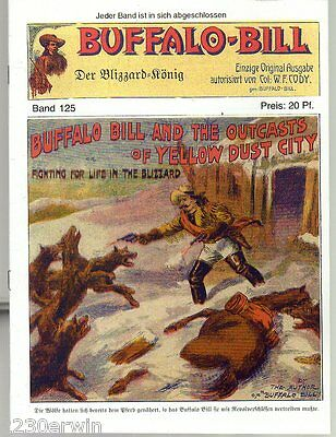 BUFFALO BILL Band 125 / Col.William F.Cody / GROSS-FORMAT