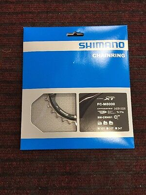 Shimano 30T SM-CRM81 Deore XT 11-Speed Chainring [FC-M8000]