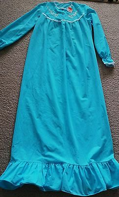 Genuine vintage nightie long blue new with tags size 12