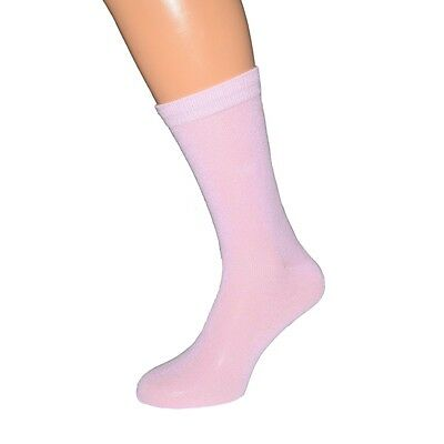 Plain Pale Pink Socks in Mens, Womens and Kids Sizes - X6S086