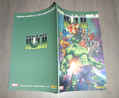 PANINI @ world war Hulk @ Edition variant 2