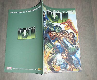 PANINI @ world war Hulk @ Edition variant 3