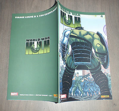 PANINI @ world war Hulk @ Edition variant 4