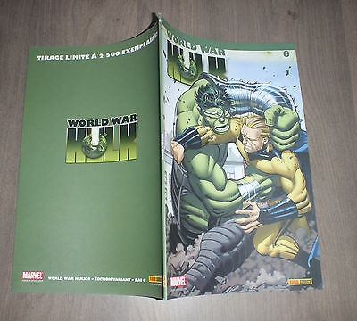 PANINI @ world war Hulk @ Edition variant 6