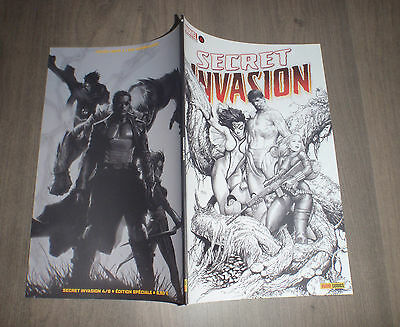 PANINI @ secret invasion  @ Edition variant 4 - noir et blanc