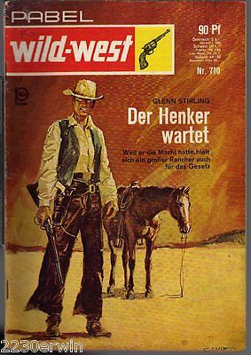 PABEL Wildwest-Romane Nr. 710 / Glenn Sterling / (1954 -1972)