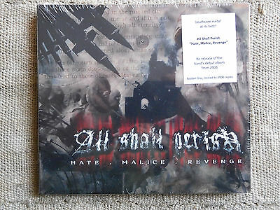 All Shall Perish ‎– Hate.Malice.Revenge  –  CD digipack sealed LIMITED EDITION