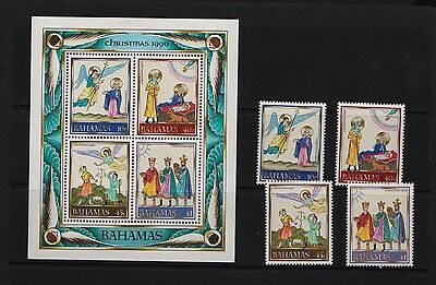 Bahamas - 1990 Christmas set, Mint, NH, cat. $ 25.20
